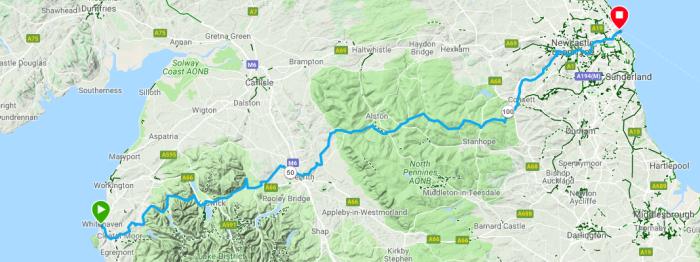 C2C route all terrain
